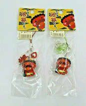 Oita Beppu Today is Hell Oni Orge Nestuke 2 Key Chains Strap Figure Japa... - $20.82