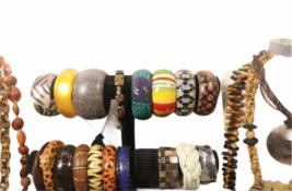 Large Safari Jungle Inspired Jewelry 10lb Lot Necklace Bracelet Earrings Clutch image 3