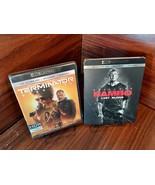 Terminator Dark Fate + Rambo Last Blood (4K+Blu-ray+Digital)-NEW-Free Sh... - $30.78