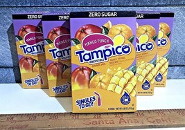TAMPICO MANGO PUNCH (Lot Of 6) Singles to go Drink Mix Water Flavor Enha... - $17.35