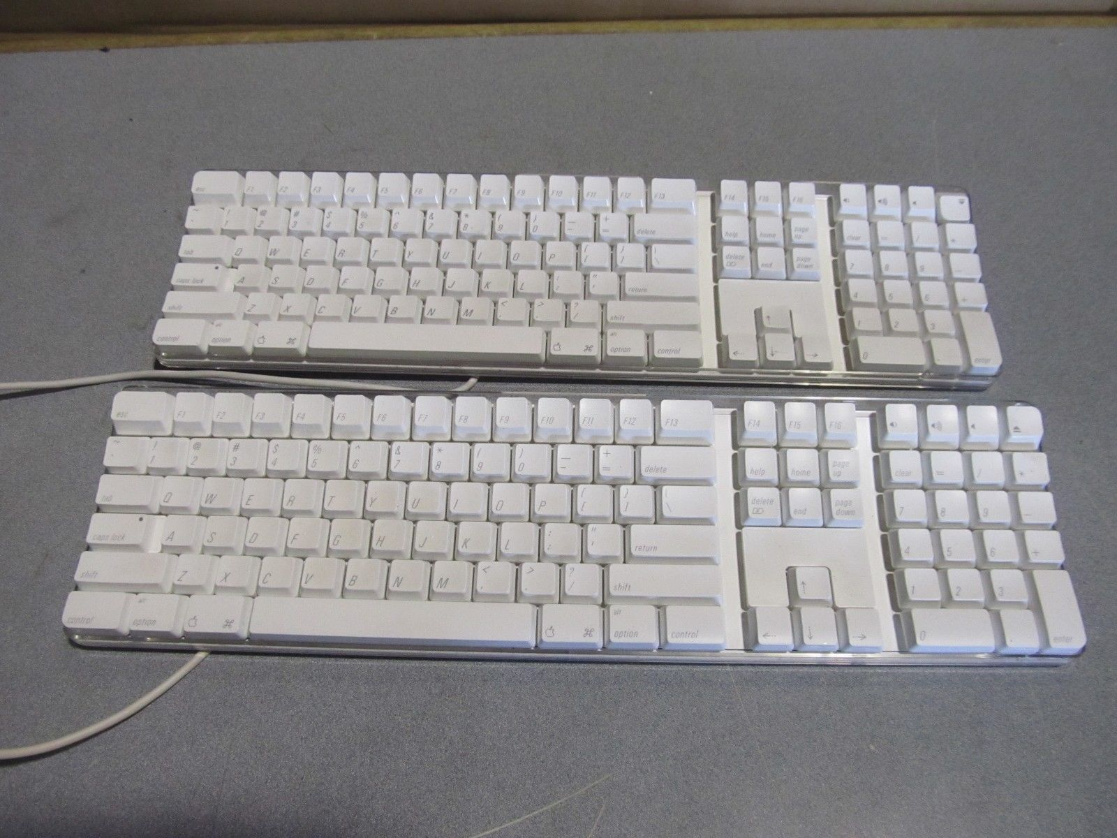 3701e81318c lot of 2 OEM apple keyboard model A1048 and 50 similar items