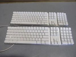 lot of 2 OEM apple keyboard model A1048 - $141.76