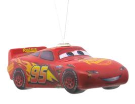 Hallmark Disney Pixar Cars Lightning McQueen Decoupage Christmas Ornament NWT image 2