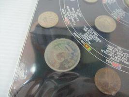 Vintage Sealed 25 World Coins Set Coin Album USA Nepal Sri Lanka Germany Bronze image 3