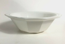 "Pfaltzgraff Heritage White 9"" Round Vegetable Dish Bowl Farmhouse 3.75"" Deep - $29.69"