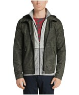 NEW MENS HUGO BOSS ORANGE ONERO-W GREEN PALM PRINT HOODED JACKET 38 REG $395 - $177.20