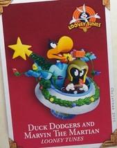 QXI8765 Duck Dodgers and Marvin The Martian Looney Tunes 2005 Hallmark Keepsake  - $25.63