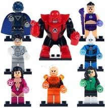 Atrocitus White Lantern Star Sapphire 8pcs Lego Minifigure Toys Set - $17.00