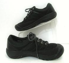 Keen Presidio Sport Mesh Athletic Shoe  Womens Size 8.5 Black 1013720 Waterproof - $79.19