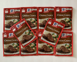 10 McCormick Onion Gravy Mix Spice Packet 0.87 Oz Each Best By: 02/22 & 05/22 - $25.99