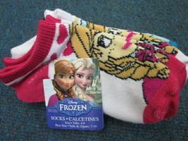 Disney Frozen 4pr crew socks SIZE 4-6 BRAND NEW - $3.91