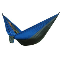 Double Outdoor Camping Nylon Hammock Parachute Hanging Bed Sleeping Swing - $19.90