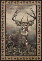 "2x8 (1'11""x7'4"") Runner Lodge Deer Cabin Rustic  Buck Antler Area Rug - €66,83 EUR"
