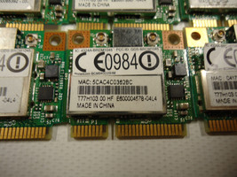 Broadcom BCM943225HM 802.11 b/g/n PCI-E Half mini Wifi BCM43225 T77H103.00 - $8.50