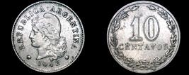 1942 Argentina 10 Centavo World Coin - $6.49