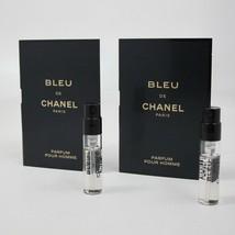Bleu De Chanel 1.5 ml/0.05 Oz Parfum Spray Vial ( 2 Count) - $17.81