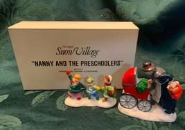 Department Dept 56 Original Snow Village NANNY AND THE PRESCHOOLERS 5430... - $19.20