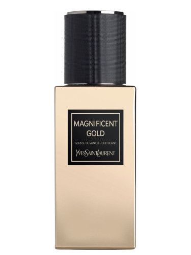 MAGNIFICENT GOLD by YSL 5ml Travel Spray LE VESTIAIRE Parfum WHITE OUD SAFFRON