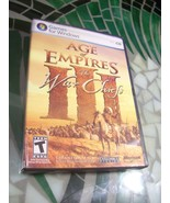 Age of Empires III The War Chiefs Expansion Windows Install Disc 1 & Gam... - $2.79