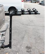 Sport 4 Bike Hitch Mount Folding Bike Rack Double Swing Down Arm Rack Ca... - $99.99