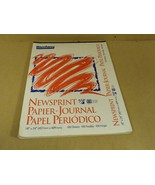 Bienfang Newsprint Paper-Journal 24in x 18in White 80 Sheets Paper - $19.55