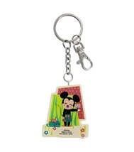 Disney Parks Minnie and Mickey Contemporary Keychain New with Tags - $17.24