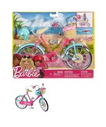 Barbie Bike And Accessory Toy Cycle Play Set Mattel New - $22.76