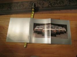 10 Mercedes Benz 1983 car auto Dealer showroom Sales Brochure catalog - $39.99