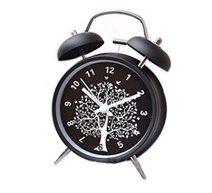 Koala Superstore 4 inches European Style Double Bell Alarm Clock Silent Alarm Cl - $26.43