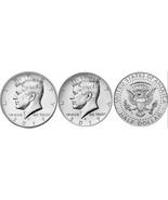 2017 P & D BU Kennedy Half Dollars Taken from US Mint Rolls  IN STOCK CP... - €4,21 EUR