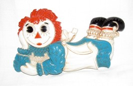 Vintage Raggedy Ann Wall Decor Wall Hanging Wall Plaque c 1977