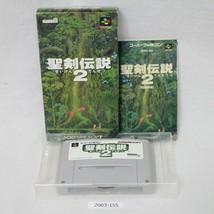 Nintendo SNES Seiken Densetsu 2 Boxed Working SFC Games 2003-155 - $15.51