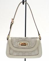 GUCCI Cream Guccissima Leather Bag 145779 1781 - £263.61 GBP