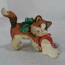 Mischievous Kittens 2006 Hallmark Ornament 10 In The Series Spilled Milk... - $10.85