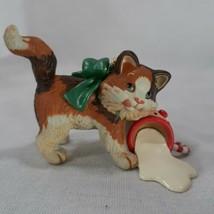 Mischievous Kittens 2006 Hallmark Ornament 10 In The Series Spilled Milk N Aube - $10.85