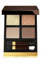 TOM FORD Eye Color Eye Shadow Quad Palette GOLDEN MINK 01 Shimmer NeW in... - $55.93