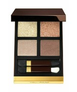 TOM FORD Eye Color Eye Shadow Quad Palette GOLDEN MINK 01 Shimmer NeW in... - $55.93