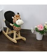 Kinbor Child Rocking Horse Toy,Giraffe Theme Stuffed Animal Rocker Toy,W... - $50.11