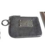 Rebecca Minkoff Cory arrow pouch in black pebbled leather - $21.00
