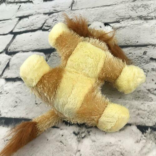 Ganz Webkinz Lil' Kinz Lion Plush Golden Brown Shaggy Stuffed Animal Soft Toy