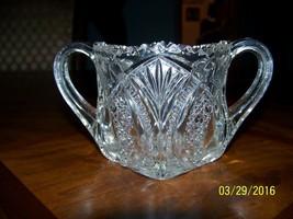 Vintage Near Cut Sugar Bowl Rare Pattern By Cambridge Glass Circa Early ... - $24.95