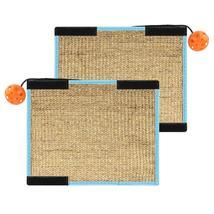 Cat Scratcher Lounge Bed Premium Recycled Corrugated Cardboard Scratchin... - $16.00