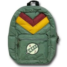 Star Wars Boba Fett Stripe Backpack Green - $61.98