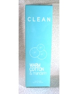 Clean Warm Cotton & Mandarin Eau Fraiche - 5.9 oz. - Sealed Box - $29.99