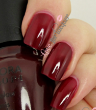 Sephora by OPI MR. RIGHT NOW Deep Burgundy Red Creme Nail Polish Lacquer SE 210 - $6.91