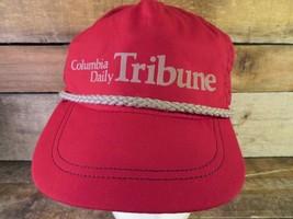 Columbia Täglich Tribun Missouri Mo Verstellbar Erwachsene Hut Kappe - $13.84