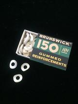 Vintage 60s Brunswick 150 Gummed Reinforcements packaging