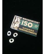 Vintage 60s Brunswick 150 Gummed Reinforcements packaging - $12.00