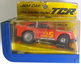 1977 Ideal TCR Cobra  Jam Slot Less Car Red 3332-4 - $49.49