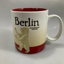 Starbucks Berlin Germany Bear Global Icon Coffee Mug 16 oz 2014 - $57.33